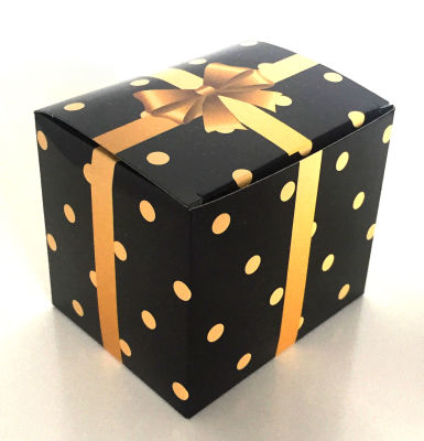 - Kupa Kutusu Siyah Puantiyeli