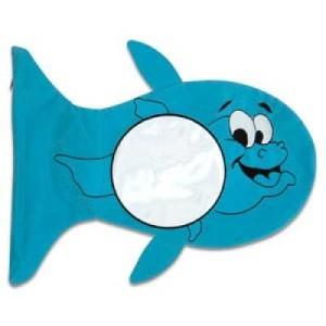 - Mavi Balık Yastık Kılıfı