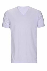 - Micro Polyester V Yaka T-shirt (ERKEK) XXL