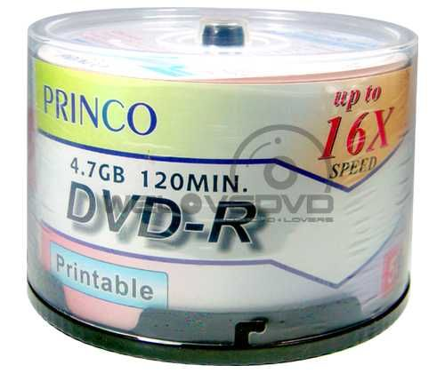 - Princo Printable DVD-R 50AD. (1)