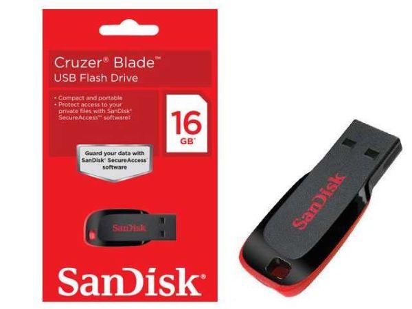- Sandisk Usb 16GB Bellek