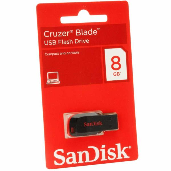 - Sandisk Usb 8GB Bellek