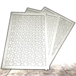 - Ahşap Puzzle A4 Dikdörtgen (1)
