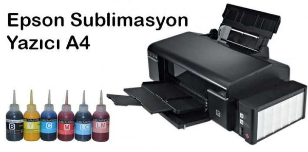 - Sublimasyon Epson L805 A4 Yazıcı