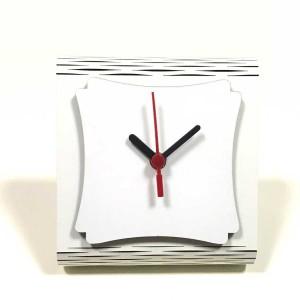- Sublimasyon (Hdf) Mdf Masa Saati MS-09 Beyaz (1)