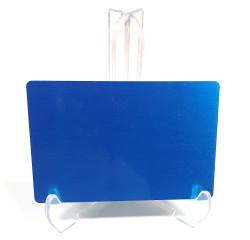 - Sublimasyon Metal Kartvizit Mavi (1)