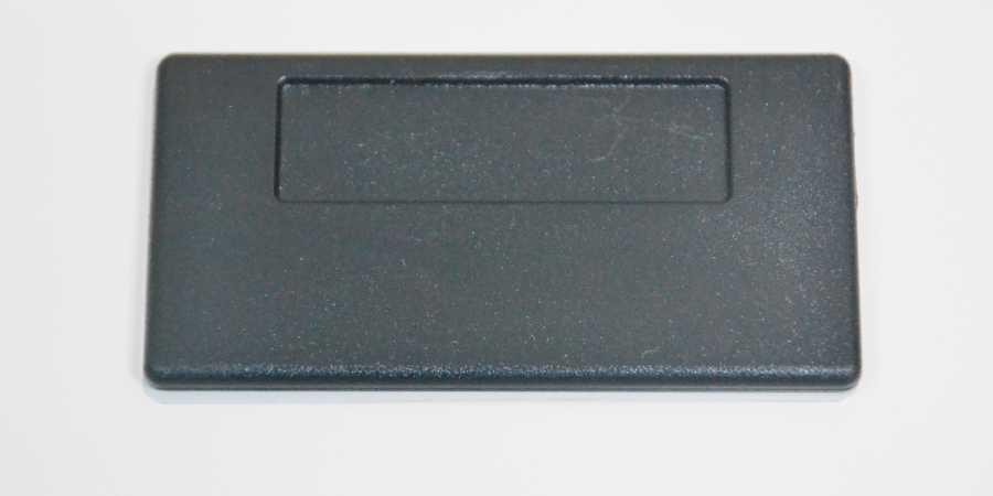 Metal Yaka İsimlik Altın 3,5x7cm