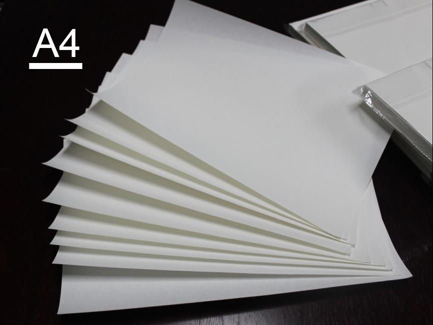 Sublimasyon Tekstil Transfer Kağıdı A4 (100Ad.)