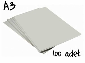 - Sublimasyon Sert Zemin Transfer Kağıdı A3 (100Ad.)