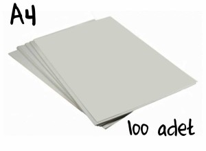 - Sublimasyon Sert Zemin Transfer Kağıdı A4 (100Ad.)