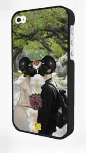 - Siyah Iphone 4/4S Kapak