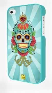 - Mavi Iphone 4/4S Kapak