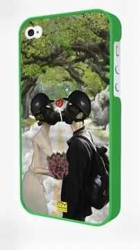 - Yeşil Iphone 4/4S Kapak
