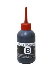 - Egraf Sublimasyon Black Mürekkep 100ml.