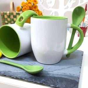 - Yeşil Kaşıklı Kupa Bardak (1)