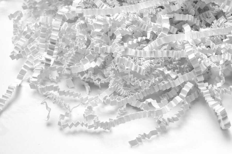 Z Zigzag KırpıkKağıt Pelur Kağıt Beyaz 1000 gr.