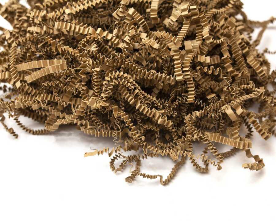 Z Zigzag Kırpık Kağıt Pelur Kağıt Kraft 1000 gr.